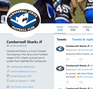 Congratulations Sharks – check out scores & photos on Twitter
