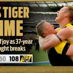 Tigers take Premiership in strong and bold form