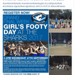 30 new photos to see – Sharks Girls Footy Day
